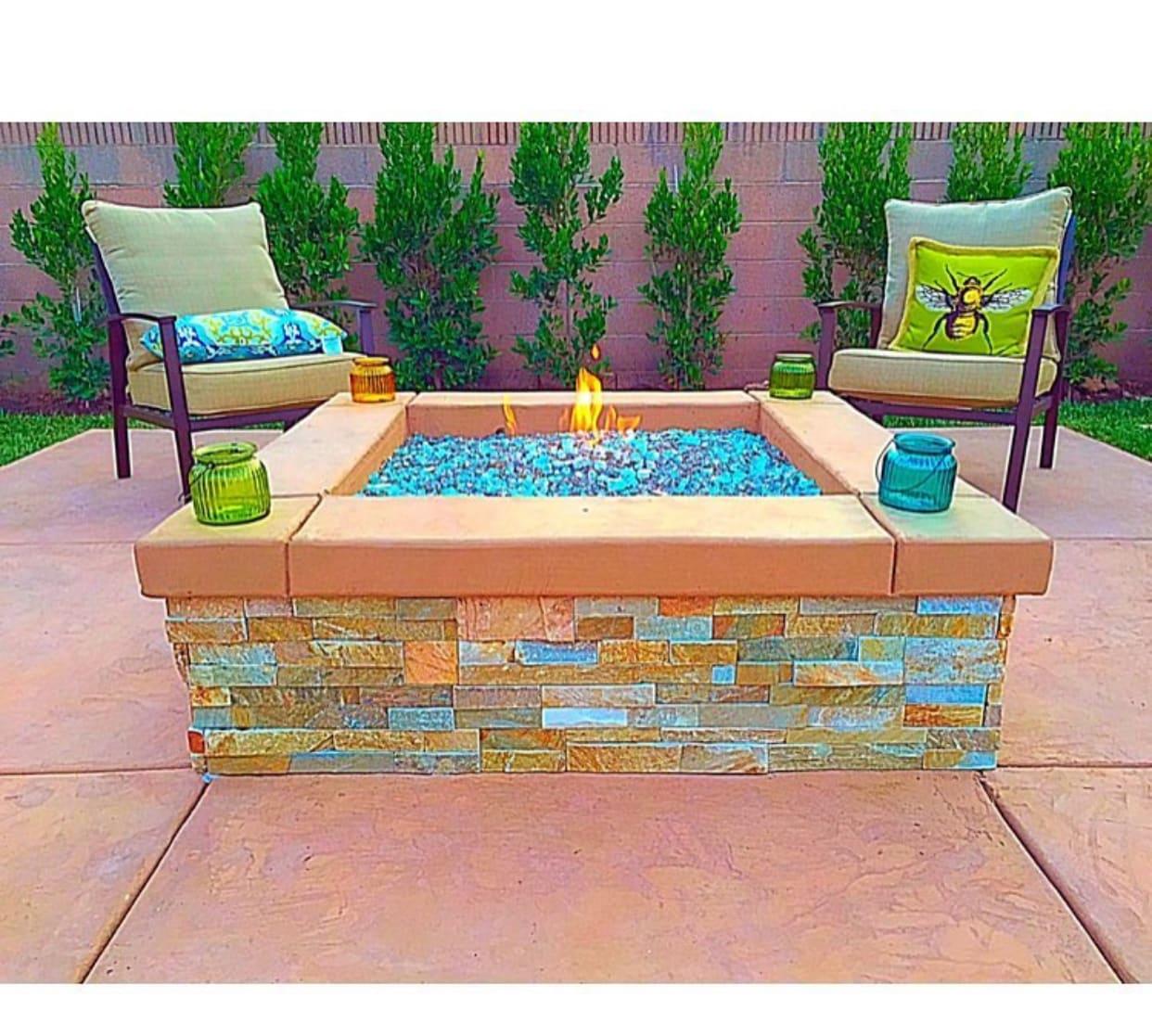 Decorative Fire Pit/concrete