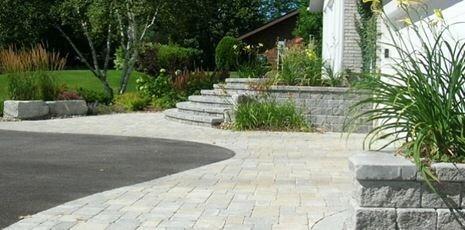 Photos For Black Diamond Paver Stones Landscape Yelp Backyard Patio Designs Pavers Backyard Patio Stones