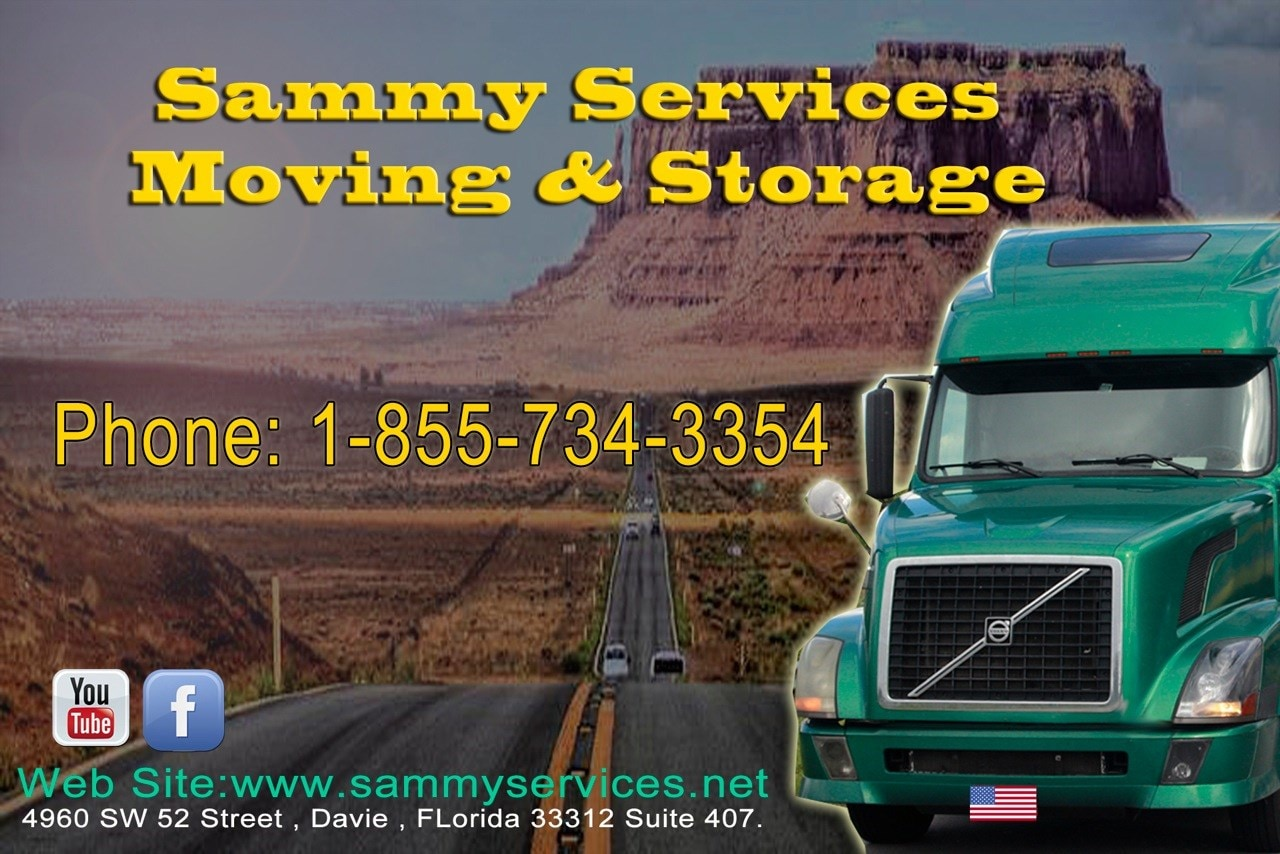 Sammy services moving and storage