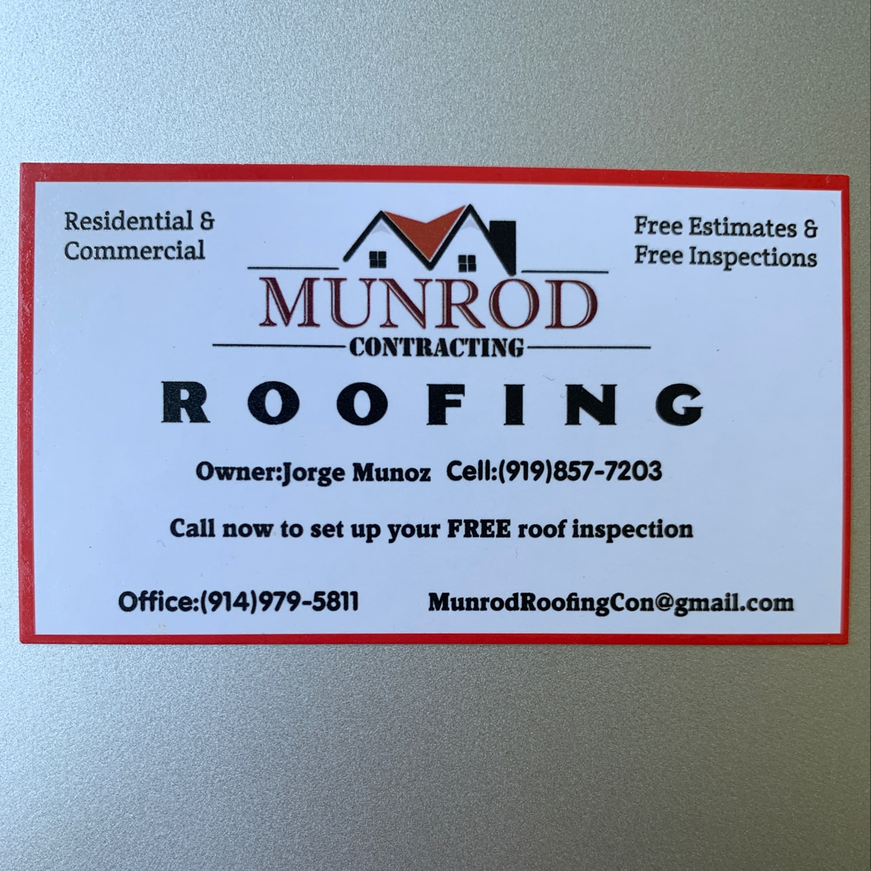 Munrod Contracting & Roofing