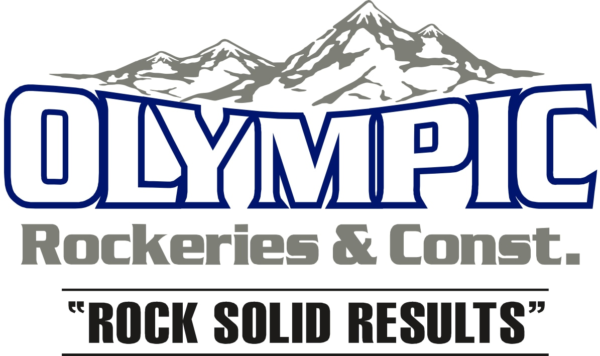 Olympic Rockeries & Construction logo