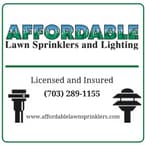 AFFORDABLE LAWN SPRINKLERS & LIGHTING