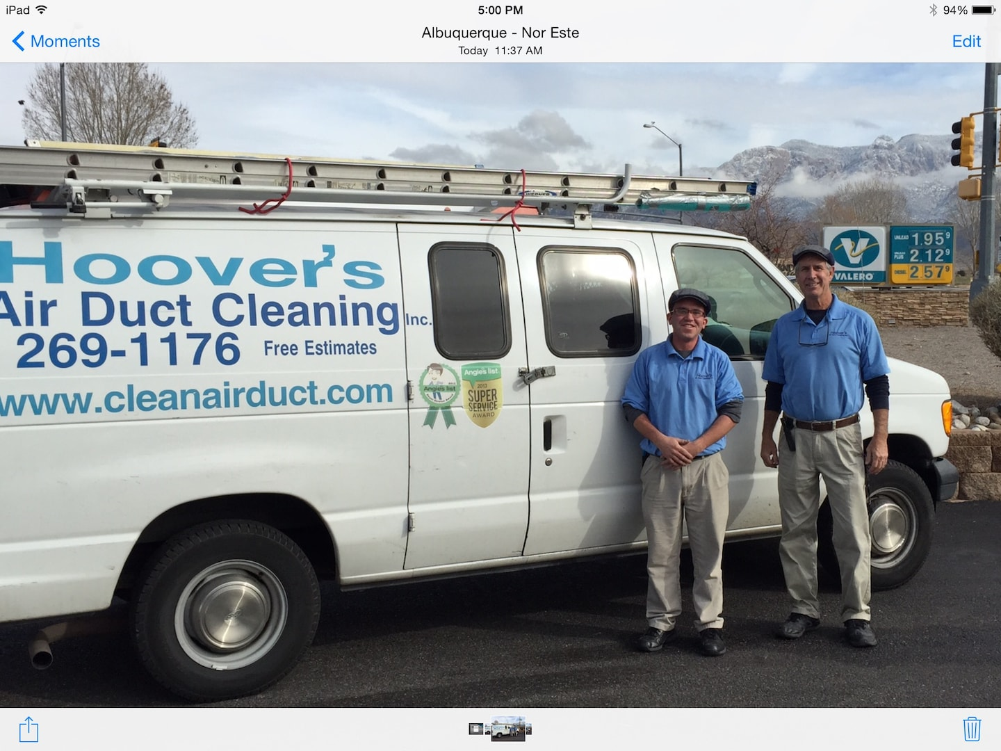 HOOVER'S AIR DUCT CLEANING