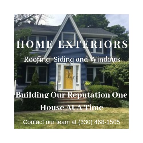 Home Exteriors Roofing, Siding and Windows logo