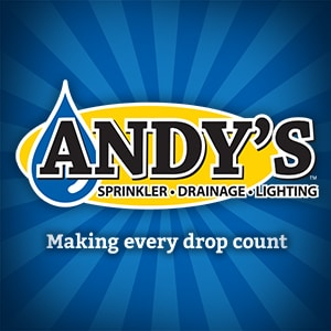 Andy's Sprinkler Drainage & Lighting logo