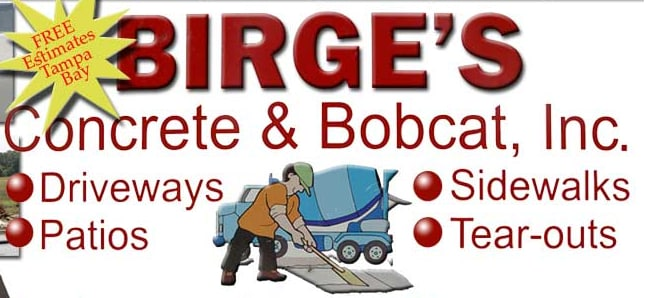 Birge's Concrete & Bobcat Services Inc