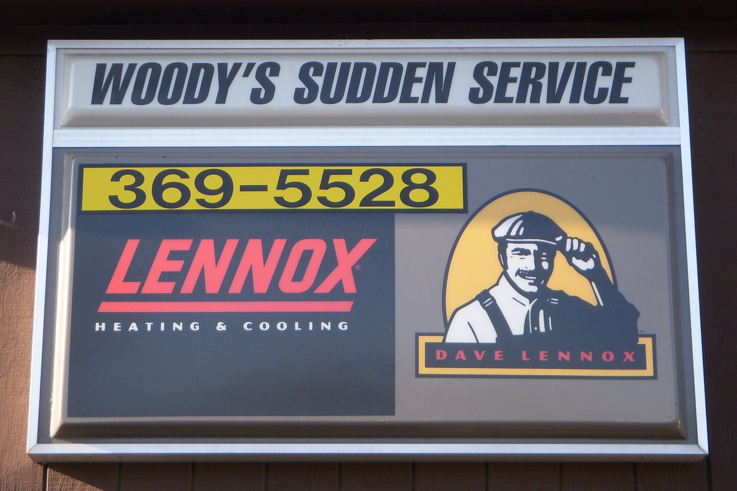 Woody's Sudden Service Inc