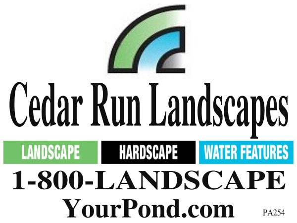 CEDAR RUN LANDSCAPES logo