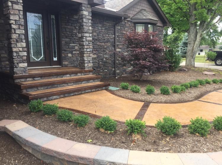 Specialized Concrete Landscape Construction Reviews Chesterland Oh Angie S List