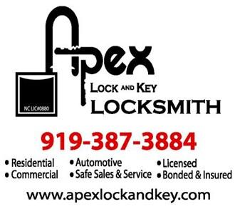 Apex Lock and Key Locksmith logo