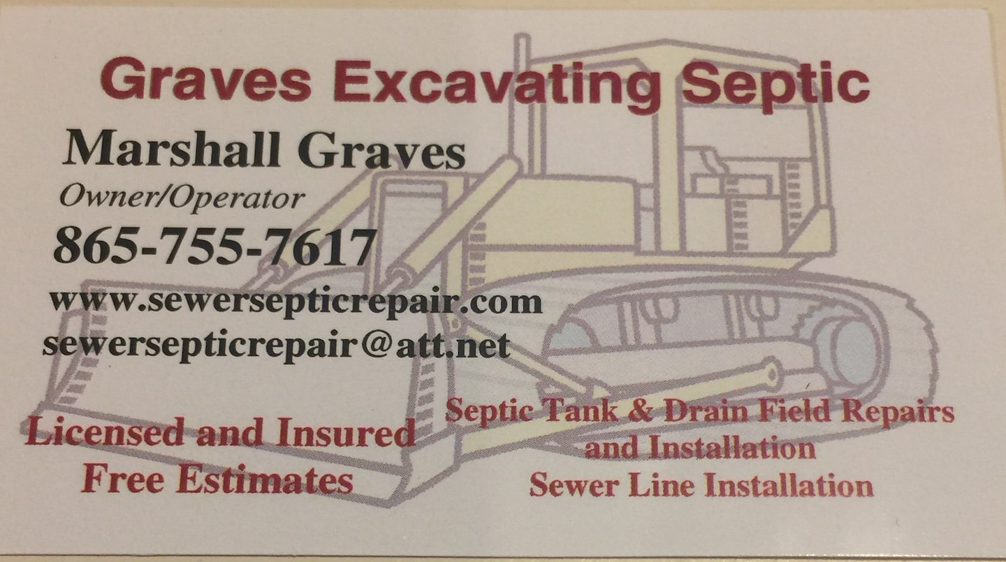 GRAVES EXCAVATING SEPTIC