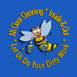 ALL CLEAR CLEANING INC logo