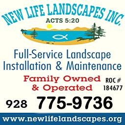 New Life Landscapes Inc