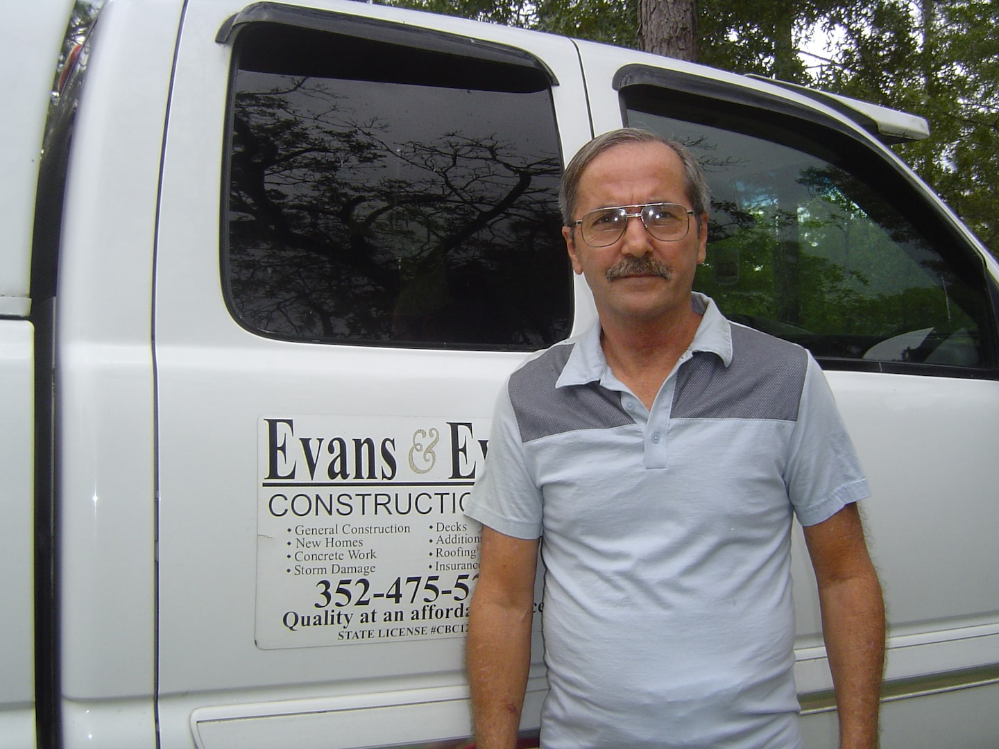 EVANS & EVANS CONSTRUCTION  INC