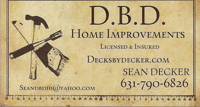 Decks by Decker Home Improvements