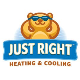 Just Right Heating & Cooling logo
