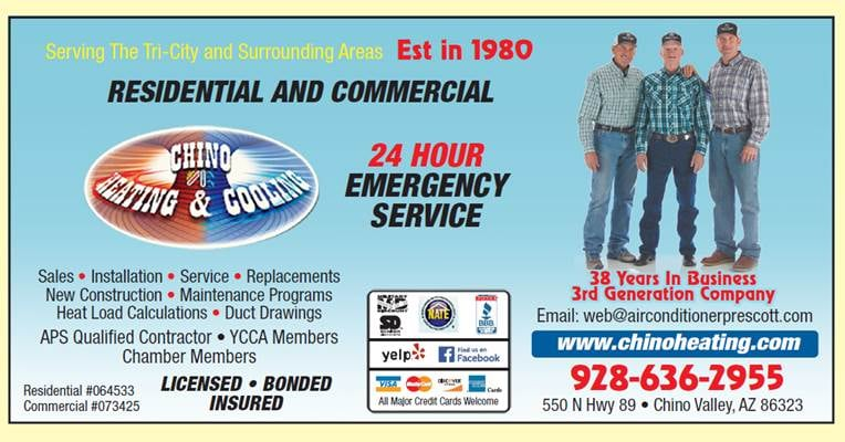Chino Heating & Cooling Inc