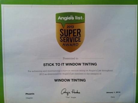 Stick To It Window Tinting
