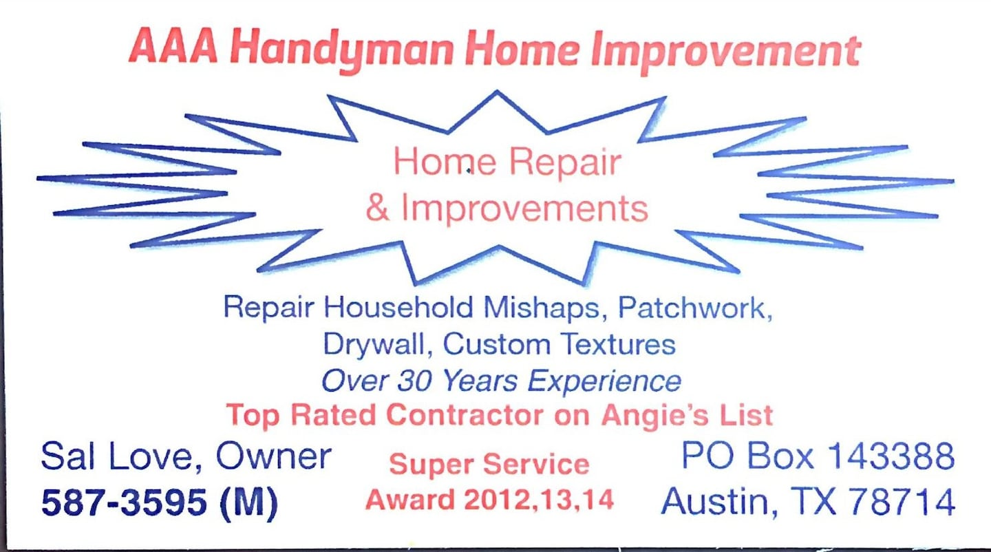 AAA Handyman Home Improvement
