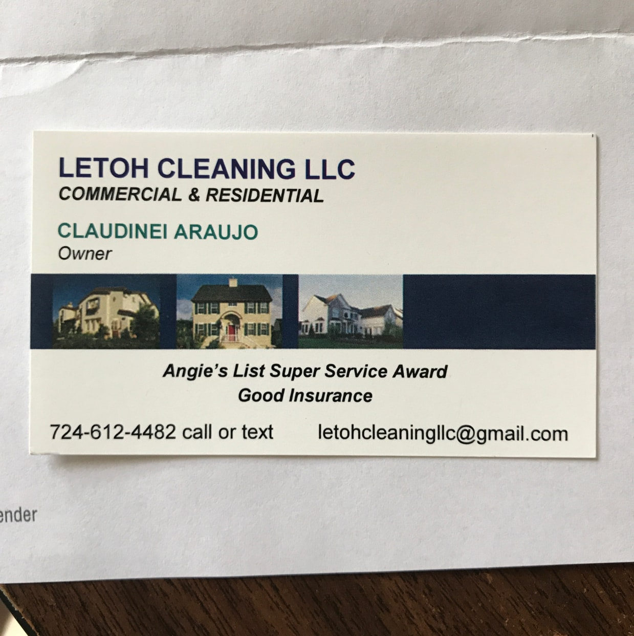 Letoh Cleaning LLC
