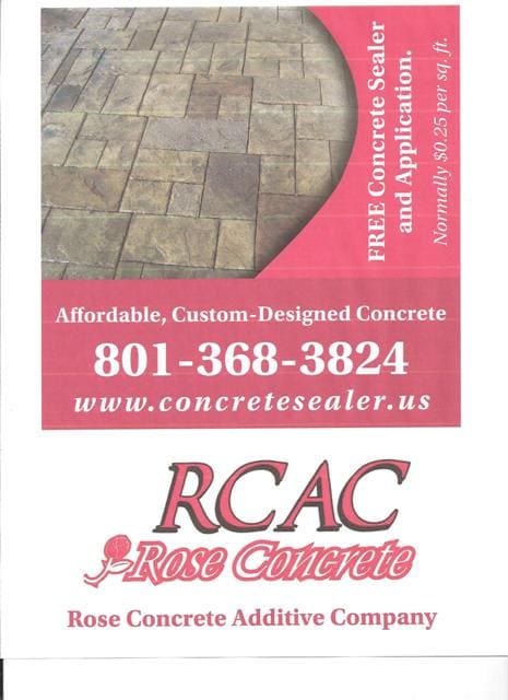 Rose Concrete Additive Co
