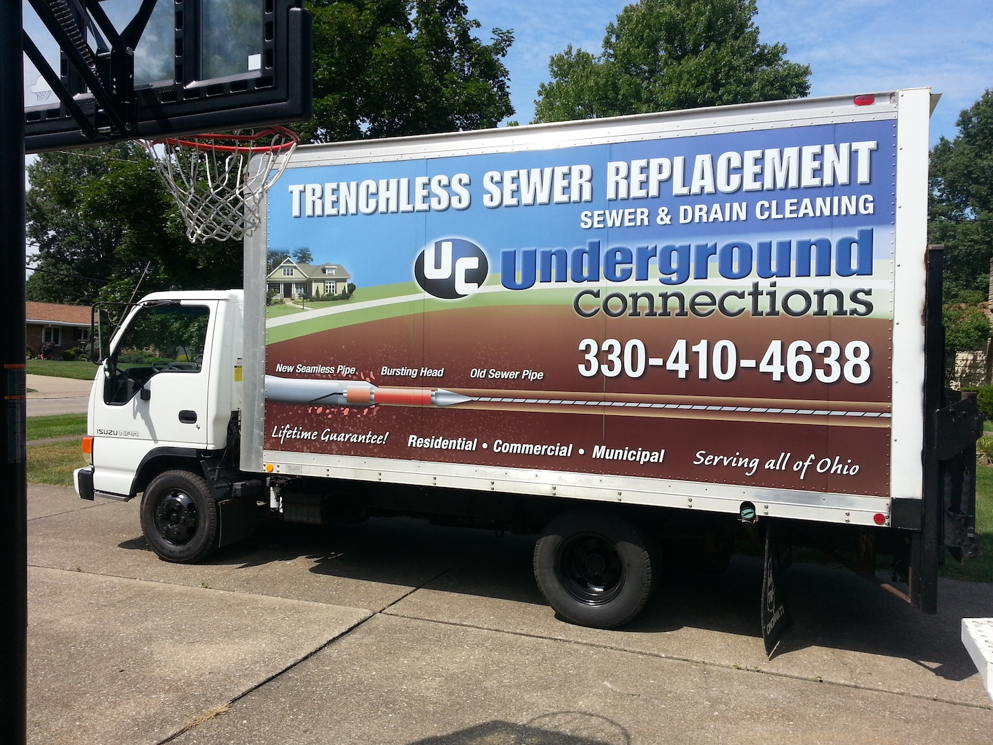 Underground Connections - Trenchless Sewer Repair