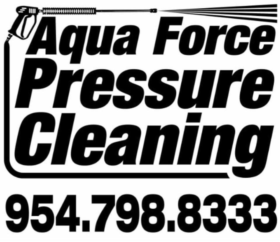 Aqua Force Pressure Cleaning