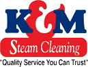 K & M Steam Cleaning logo