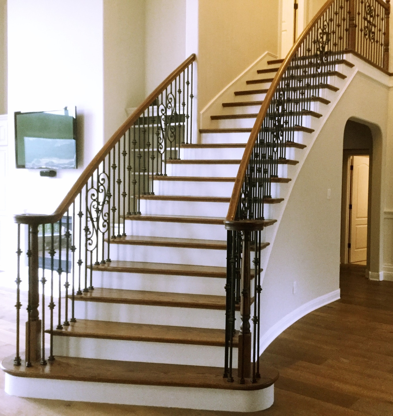 Steve's Woodworks - Hill Country Stairs