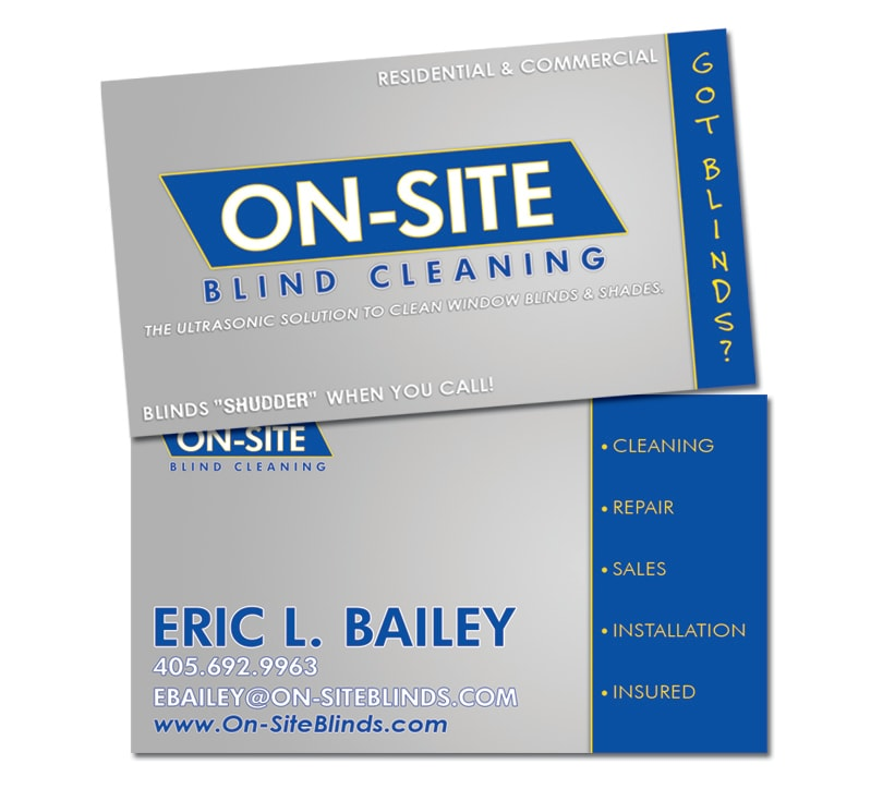 On-Site Blind Cleaning