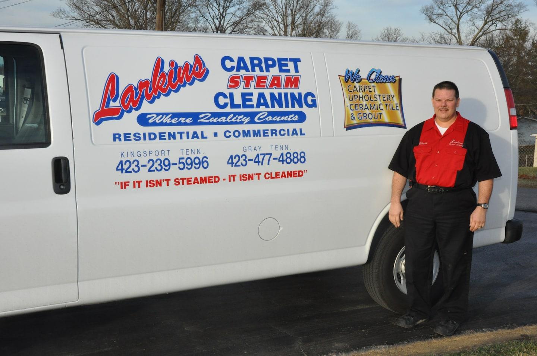 Larkins Carpet Steam Cleaning