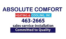 Absolute Comfort Heating & Cooling Inc