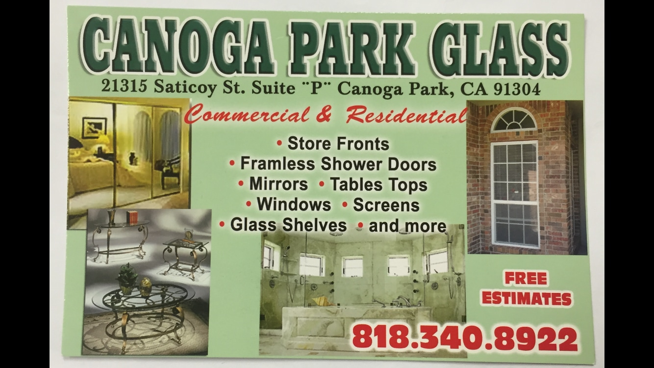 Canoga Park Glass