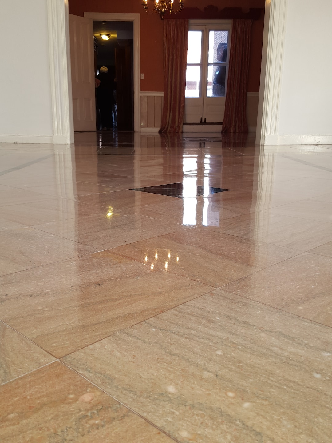 New Galaxy Floor LLC. Marble Floor Polishing