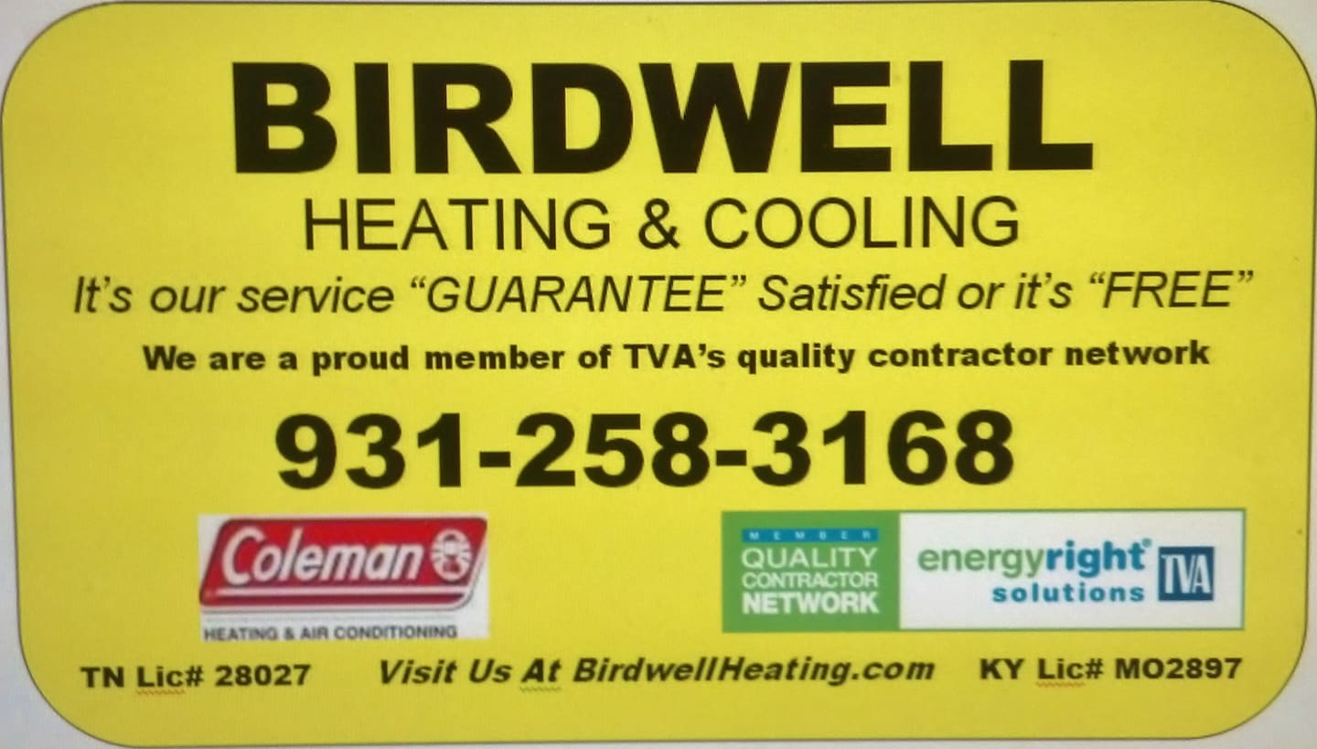 Birdwell Heating Cooling Reviews Red Boiling Springs Tn