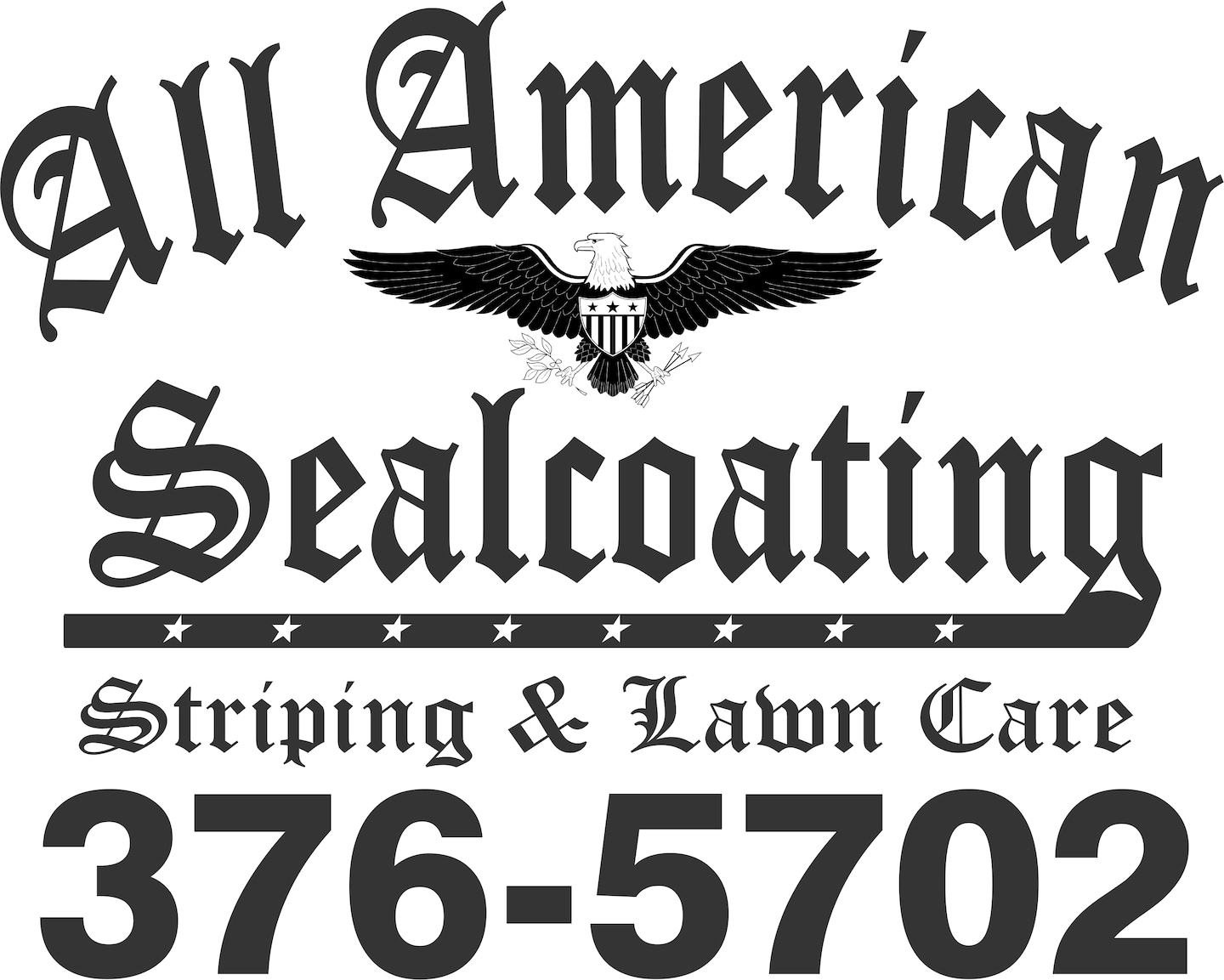 All American Seal Coating Striping & Lawn Care