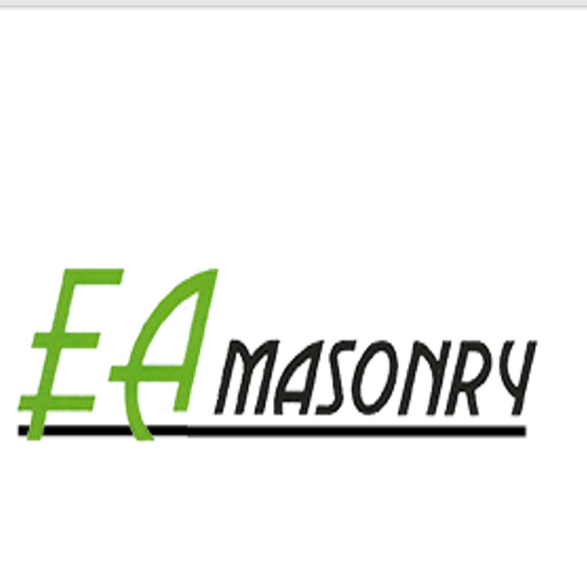 E.A Masonry logo