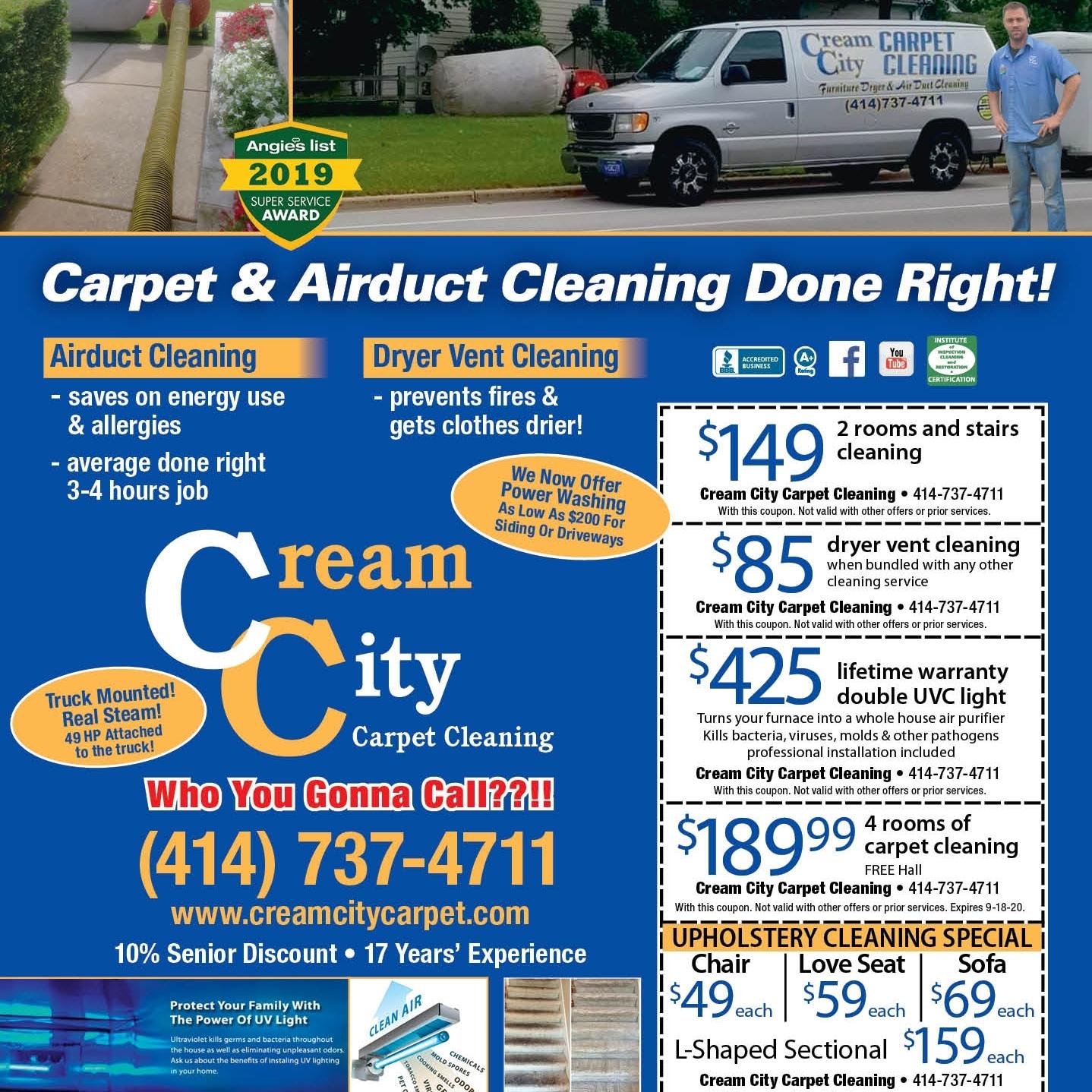 Cream City Carpet Cleaning