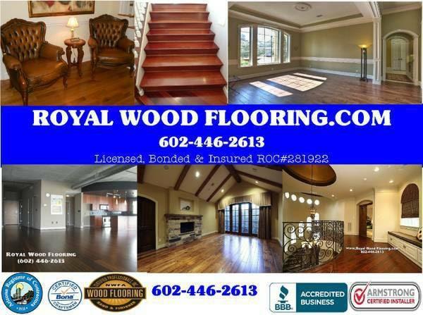 Royal Wood Flooring Installation & Refinishing