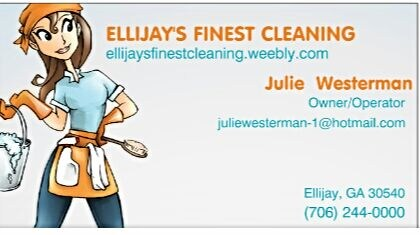 Ellijay's Finest Cleaning Service