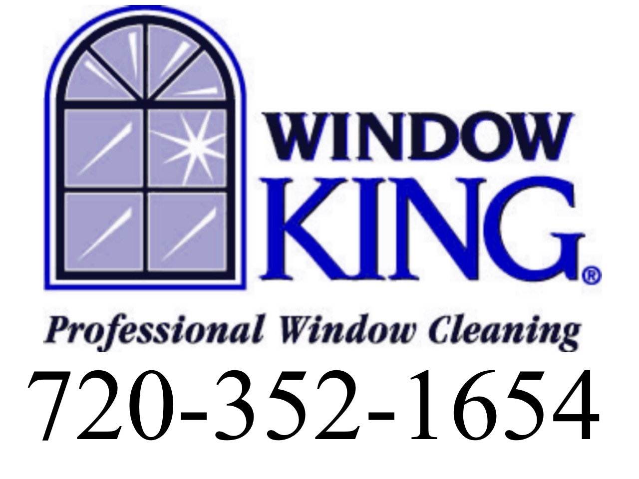 Window KING Window Cleaning logo