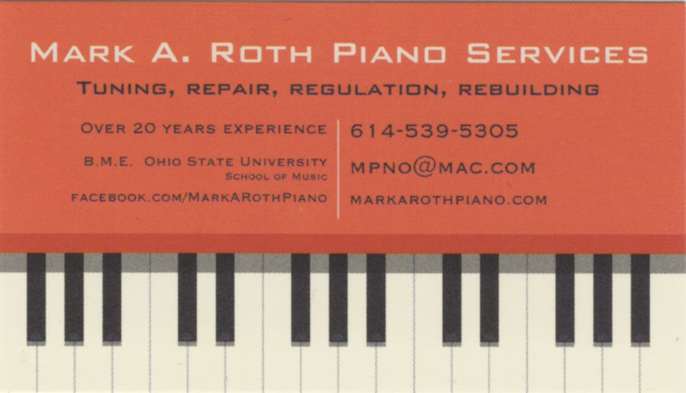 MARK A ROTH PIANO SERVICES