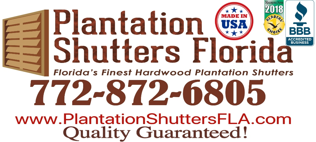 The REAL Plantation Shutter-Stuart, Florida 34997
