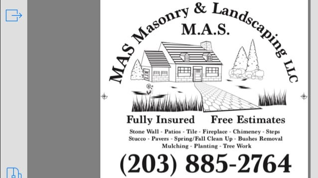 MAS Masonry & Landscaping Co LLC