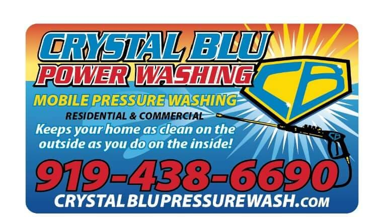 Crystal Blu Pressure Washing