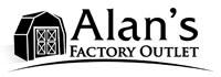 Alan's Factory Outlet logo