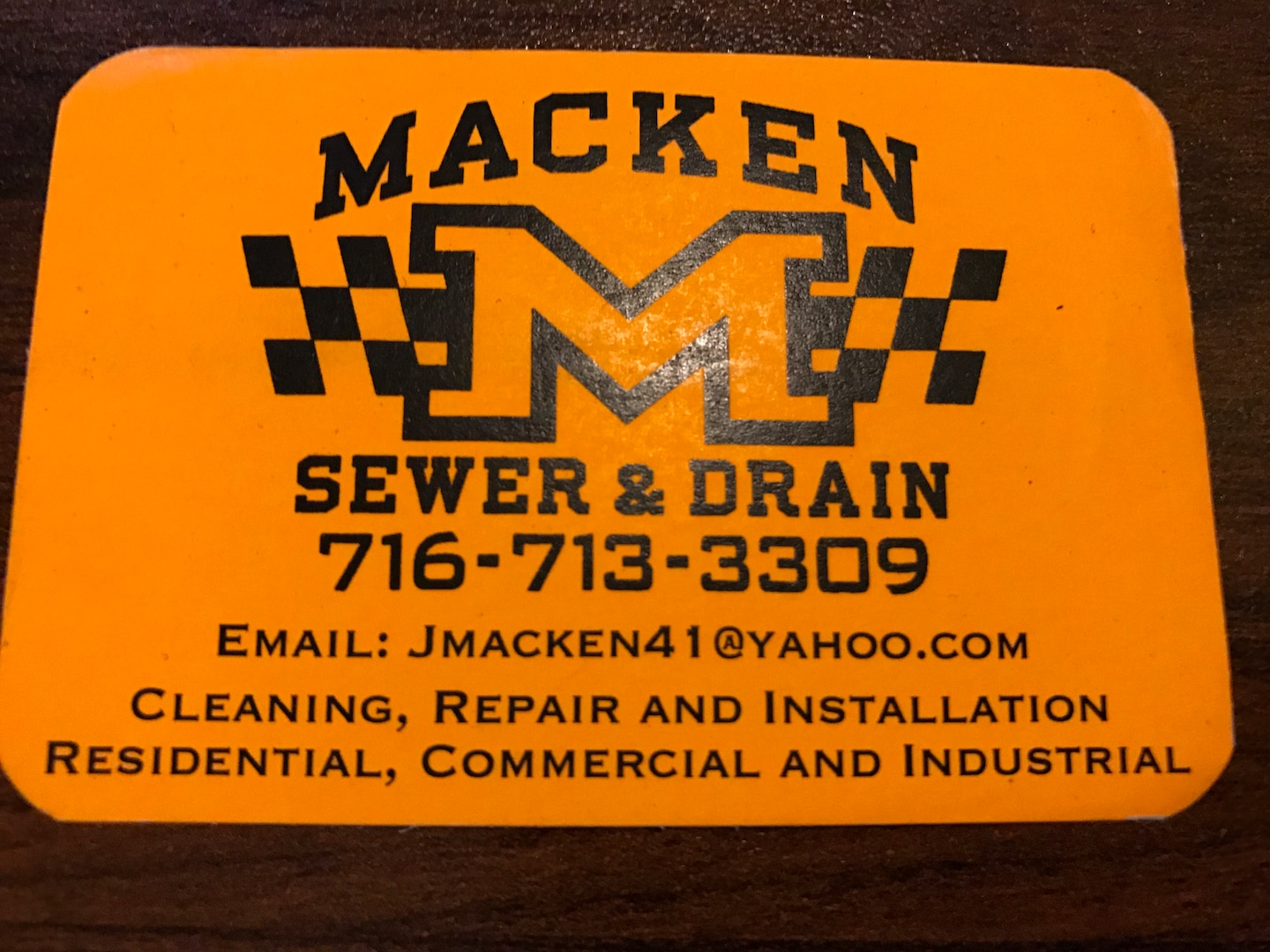 Macken Sewer & Drain, LLC