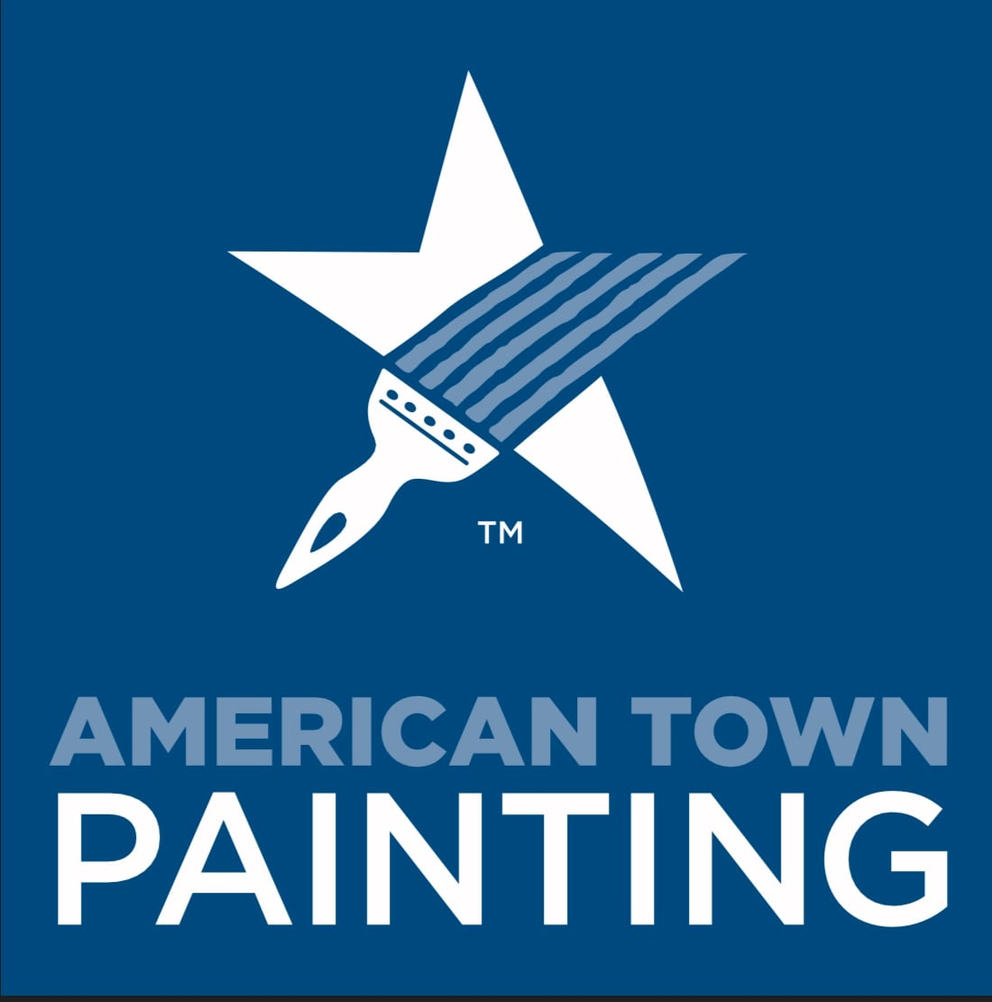American Town Painting