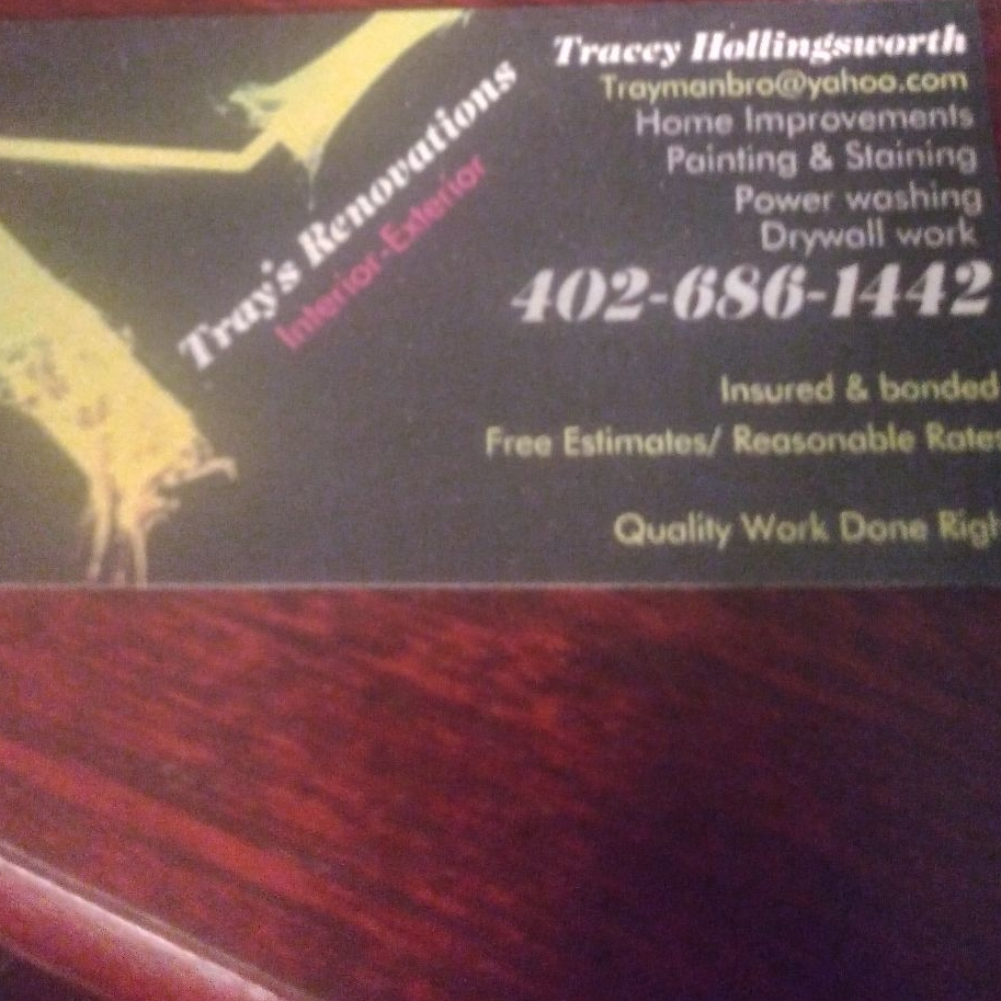 Tray's Painting, Stain & Renovations LLC