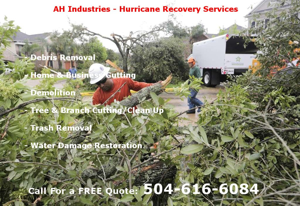 AH Industries Disaster Recovery Services